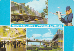 WARSZAWA  International Airport  - Hotesse De L'air - - Pologne