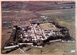 Cpsm 17 BROUAGE Ancienne Place Forte Et Ancien Port De Mer Vue Generale Aerienne - France