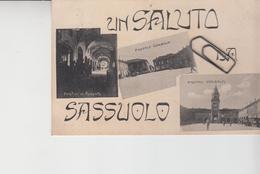 UN SALUTO DA SASSUOLO MODENA 3 VEDUTE - Italia