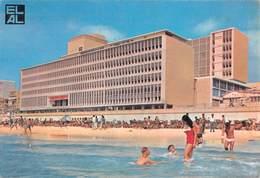 """0384 """"ISRAEL'S DAN HOTEL"""" CART. ORIG. SPED. 1966 - Israele"""