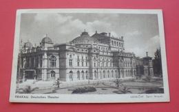 Krakow - Ca. 1940 - Poland --- Deutsches Theater, Teatr , Cracow Cracovie Cracovia Krakau Pologne Polonia Polen --- 832 - Pologne