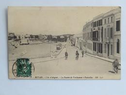 C. P. A. : 17 ROYAN : La Façade De Verthamon à Pontaillac, Tramway, Animé, Timbre En 1914 - Royan