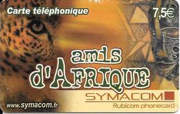 CARTE-PREPAYEE-7.5€-SYMACOM-AMIS D AFRIQUE-31/12/2005- T BE- - France