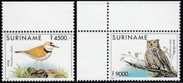 Surinam 2001 - Definitive Stamps: Birds, Incl. Owl - Mi 1782-1783 ** MNH - Surinam