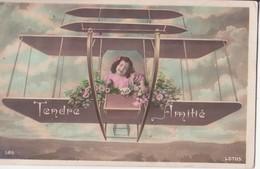 CP -  TENDRE AMITIE - Felicitaciones (Fiestas)