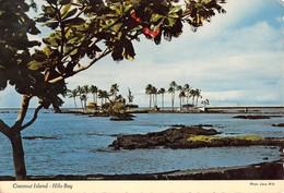"0386 ""SCENIC COCCONUT ISLAND INHILO BAY , ISLAND OF HAWAII - HAWAII"" CART. ORIG. SPED. 1972 - Hilo"