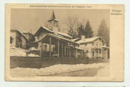 TORINO - ESPOSIZIONE INTERNAZIONALE 1922 - VILLAGGIO SUBALPINO   VIAGGIATA FP - Otros