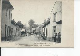 AUXI LE CHATEAU   Rue Du Chateau - Auxi Le Chateau
