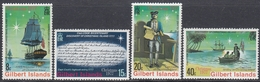 Gilbert Islands 1977 - Discovery Of Christmas Island By Captain Cook - Mi 295-298 ** MNH - Îles Gilbert Et Ellice (...-1979)