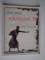 Vichy-Revue,Tourisme 1953,plages Et Villes D'eaux,les Spectacles,festival De Musique Française,référendum Cinéma, - Tourisme