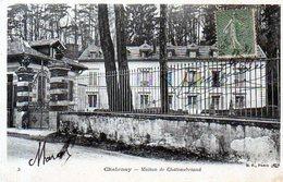 92 - CHATENAY - Maison De Chateaubriand - Chatenay Malabry