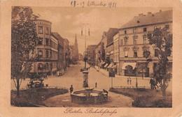 """0388 """"RATIBOR"""" AFFRANCATURA OCCUPAZIONE ALLEATA SEGUITO IN W.W. CART. ORIG. SPED. 1921 - Polonia"""