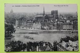 75 PARIS - CATHEDRALE NOTRE DAME - 1931 - CPA Carte Postale Ancienne (vente Reversée Pour La Reconstruction) / 1 - Notre Dame De Paris