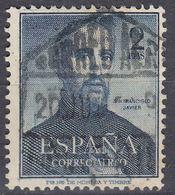 SPAGNA - SPAIN - ESPAGNE - 1952 - Yvert Posta Aerea 256 Usato. - Usati