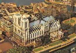 Carte Postale GRAND FORMAT PARIS (75) Cathédrale Notre-Dame 1163-1260 La  Flèche Tombée Le 15-04-2019 (Eglise-Religion) - Eglises