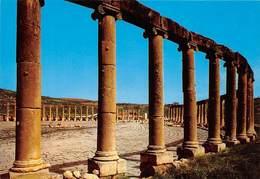 Jordan Jerash The Forum Ruins Foro - Jordan