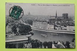 75 PARIS - CATHEDRALE NOTRE DAME - 1908 - CPA Carte Postale Ancienne (vente Reversée Pour La Reconstruction) / 2 - Notre Dame Von Paris