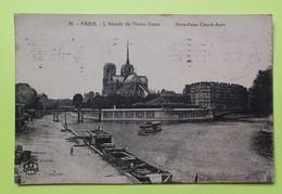75 PARIS - CATHEDRALE NOTRE DAME - 1922 - CPA Carte Postale Ancienne (vente Reversée Pour La Reconstruction) / 3 - Notre-Dame De Paris
