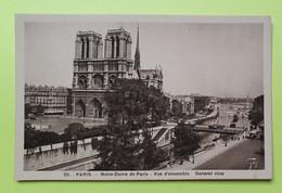 75 PARIS - CATHEDRALE NOTRE DAME - 1940 - CPA Carte Postale Ancienne (vente Reversée Pour La Reconstruction) / 5 - Notre Dame De Paris