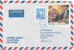 Chile Air Mail Cover Sent To Germany 18-7-1996 - Chile