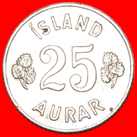 + GREAT BRITAIN BIRCH (1946-1967): ICELAND ★ 25 ORE 1962! LOW START ★ NO RESERVE! - Iceland