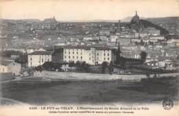 43 - LE PUY-en-VELAY - L'Etablissement De Roche ARnaud Et La Ville - Le Puy En Velay