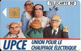 CARTE-PUCE-PRIVEE-D-1990-D413-UPCE-BEBETE SHOW-UTILISE/ R°Glacé-TBE- - France