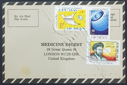1984, IRAN, Medicine Digest, Carte Response, Tehran - London - Iran