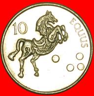 + HORSE (2000-2006): SLOVENIA ★ 10 TOLARS 2004! LOW START ★ NO RESERVE! - Slovenia