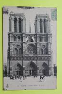 75 PARIS - CATHEDRALE NOTRE DAME - 1905 - CPA Carte Postale Ancienne (vente Reversée Pour La Reconstruction) / 10 - Notre-Dame De Paris
