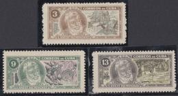 1963.89 CUBA 1963 MNH. Ed.1032-34. ERNEST HEMINGWAY. WRITTER LITERATURE. - Cuba