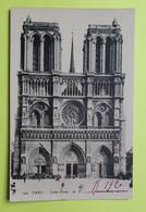75 PARIS - CATHEDRALE NOTRE DAME - 1920 - CPA Carte Postale Ancienne (vente Reversée Pour La Reconstruction) / 11 - Notre Dame Von Paris