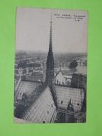75 PARIS CATHEDRALE NOTRE DAME La Flèche 1910 CPA Carte Postale Ancienne (vente Reversée Pour La Reconstruction) / 13 - Notre Dame De Paris