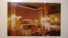 US - Oak Park - Illinois - Unity Temple, Auditorium (Frank Lloyd Right) - Altri