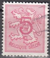 Belgique 1974 COB 1728 O Cote (2016) 0.15 Euro Lion Héraldique - Belgique