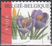 Belgique 2002 COB 3141A O Cote (2016) 2.60 Euro Crocus Cachet Rond - Gebraucht