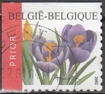 Belgique 2002 COB 3141B O Cote (2016) 2.60 Euro Crocus Cachet Rond - Belgique