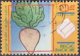 Belgique 2004 COB 3246 O Cote (2016) 0.40 Euro Betterave Sucrière Cachet Rond - Belgium