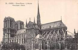 Carte Postale PARIS (75) Cathédrale Notre-Dame 1163-1260 Flèche Tombée Le 15-04-2019 Bateau-Eglise-Religion - Eglises
