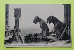 75 PARIS - CATHEDRALE NOTRE DAME - 1918 - CPA Carte Postale Ancienne (vente Reversée Pour La Reconstruction) / 20 - Notre Dame De Paris