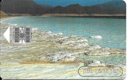 CARTE-PUCE-OPT-DJIBOUTI-1 00U--SC7-SCHLUM-V° N° Rge Etroits 00101525--LAC  SALE-UTILISE-TBE - Dschibuti