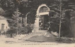 B365 La Sainte Baume Entree De La Grotte Armenienne Armenian Ecrite - France