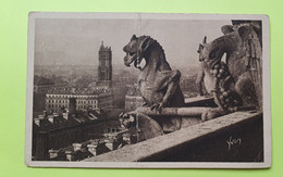 75 PARIS - CATHEDRALE NOTRE DAME - 1940 - CPA Carte Postale Ancienne (vente Reversée Pour La Reconstruction) / 21 - Notre Dame De Paris