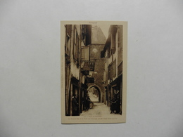 CPA :France : [12] Aveyron > Mur De Barrez :La Grande Rue Et La Tour De L'Horloge - Autres Communes