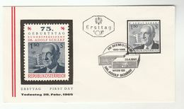 1965 Special FDC SCHARF Stamps AUSTRIA Cover - FDC