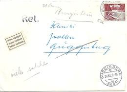 Brief  Burgistein Station - Guggisberg  (Adresse Ungenügend)          1960 - Suisse