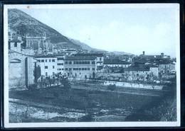 GUBBIO - PERUGIA - 1935 - PANORAMA - ISTITUTO SAN DOMENICO - Perugia