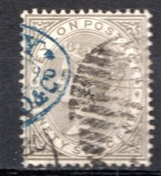 CEYLAN - (Colonie Britannique) - 1872-80 - N° 58 - 96 C. Olive - (Victoria) - Ceylon (...-1947)