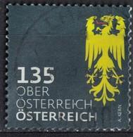 Autriche 2018 Oblitéré Used Coat Of Armes Armoiries Oberösterreich Haute Autriche SU - 1945-.... 2nd Republic