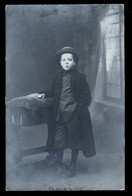 CUMIANA - TORINO - 1912 - FOTOCARTOLINA PRIVATA  CON BAMBINO - VIAGGIATA PER CAVOUR - Ritratti